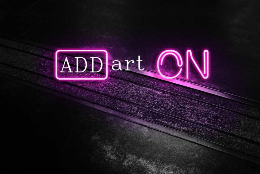 ADD-art ON!