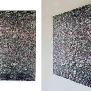 RITRATTO DI UOMO E DI DONNA, 2017, foto digitali e silicone su plexiglass nero, cm 39x30x10