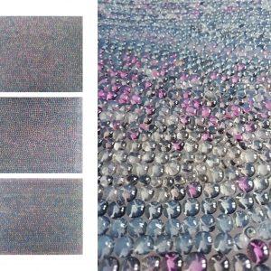 RITRATTO DI UOMO E DI DONNA, 2017, foto digitali e silicone su plexiglass e specchio, cm 30x37x3 cad.