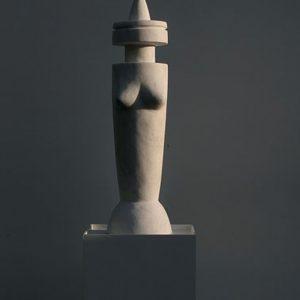 SIMULACRO, 2016, pezzo unico, marmo, cm (h) 45