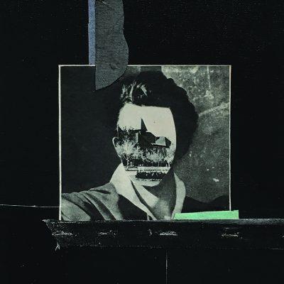 THE POET, 20x30 cm, mixed media on canvas, 2017