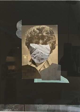 MARY, 20x30 cm, mixed media on canvas, 2017