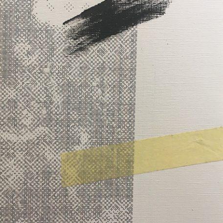 IWY A.L.T. lato B, 2017, getto d'inchiostro, collage, acrilico, n.5/5