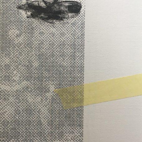 IWY A.L.T. lato B, 2017, getto d'inchiostro, collage, acrilico, n.3/5