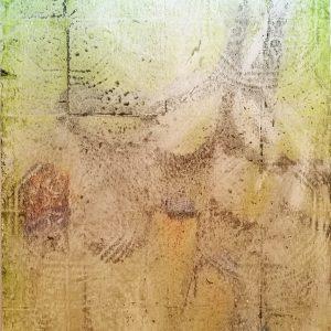I WANT YOU - PROVE DI VITA ACCELERATA, 2015, grottage e vernice su manifesto, cm 98x68