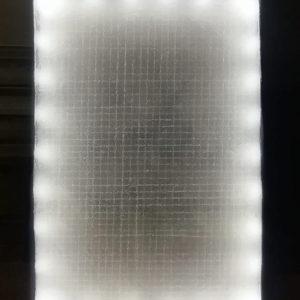 LIGHT BOX, 2019, photo su plexi siliconi e luce led, cm 73,5x53,5x5